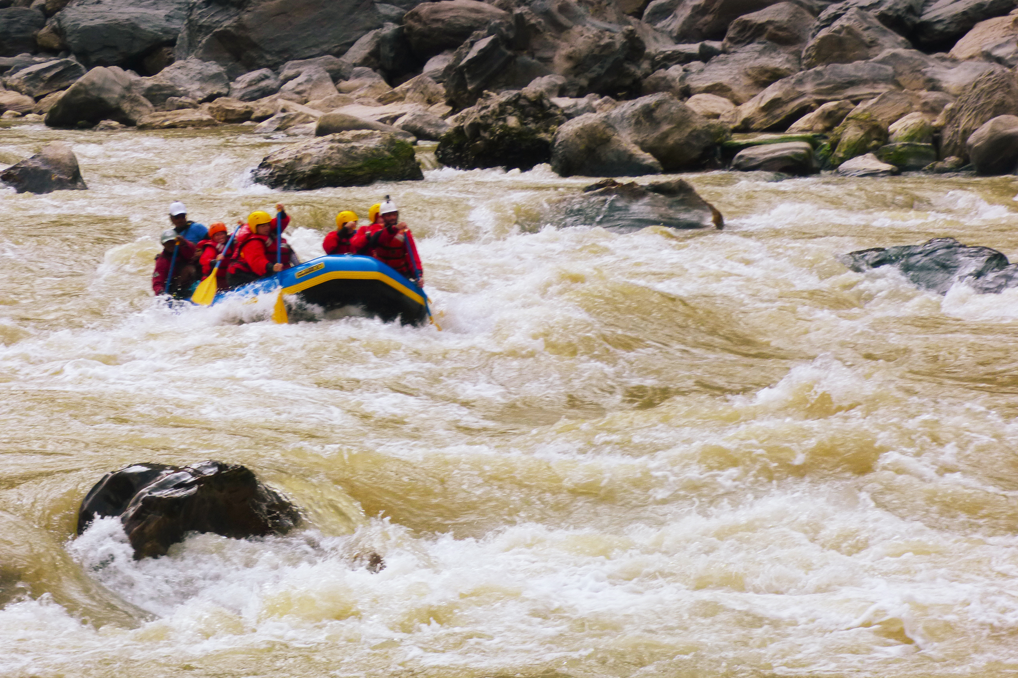 Whitewater Rafting Trisuli River